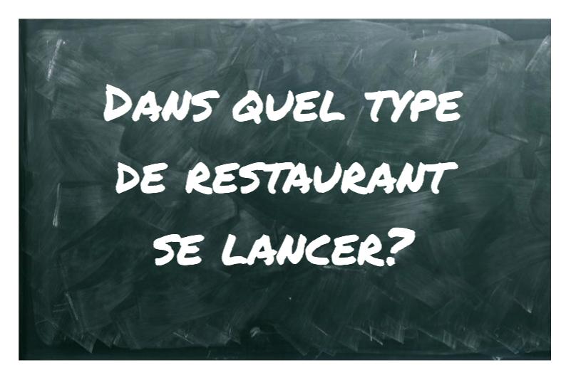 type de restaurant