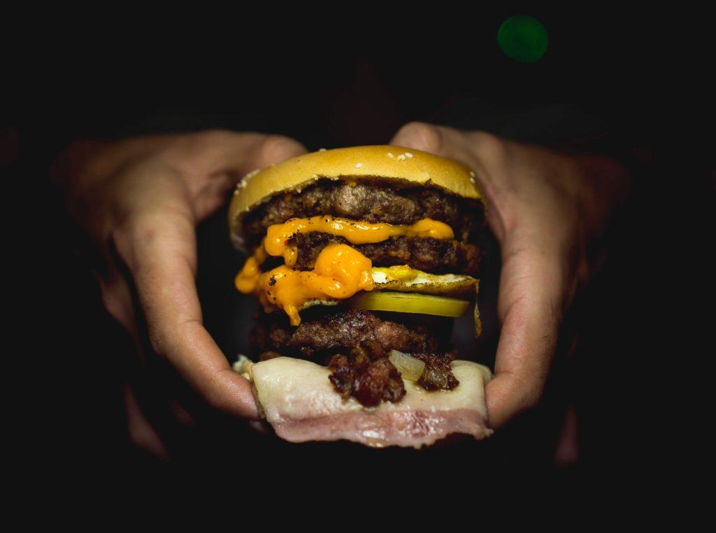 burger hachoir a viande